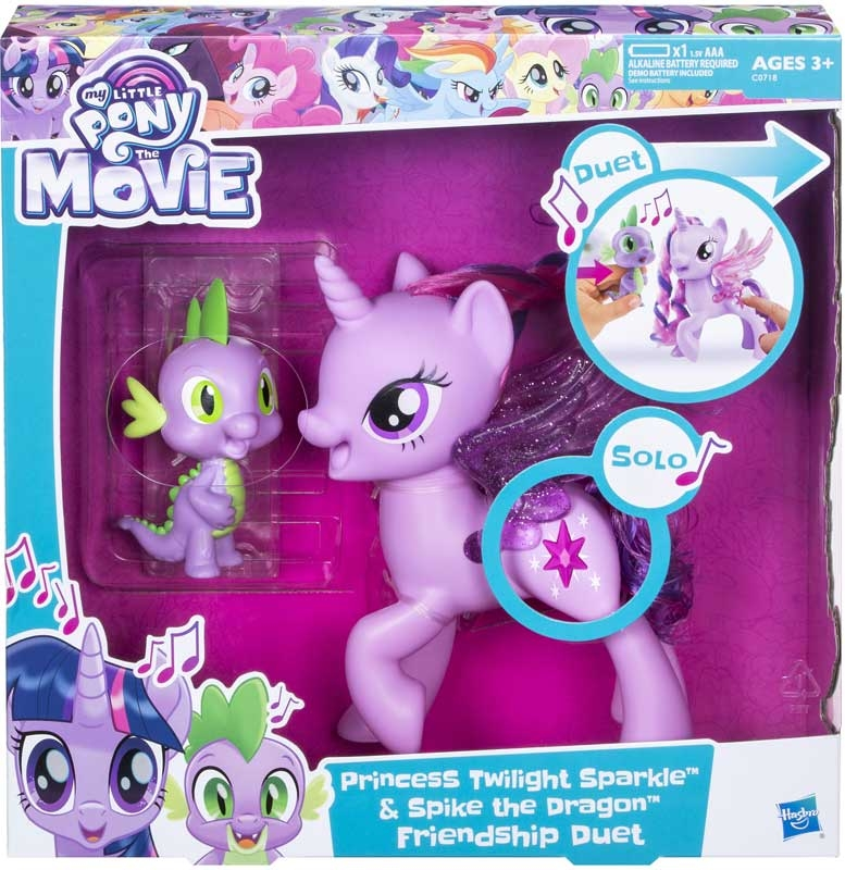 Wholesalers of My Little Pony Princess Twilight Sparkle And Spike toys