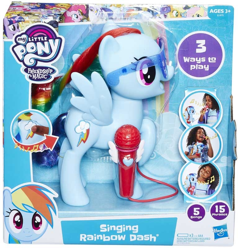 Wholesalers of My Little Pony Singing Rainbow Dash toys