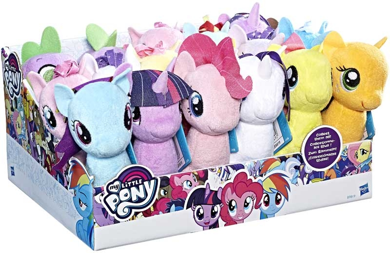 Wholesalers of My Little Pony Small Plush Asst toys