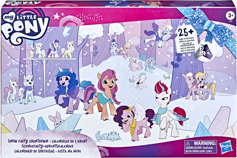 Wholesalers of My Little Pony Snow Party Countdown toys