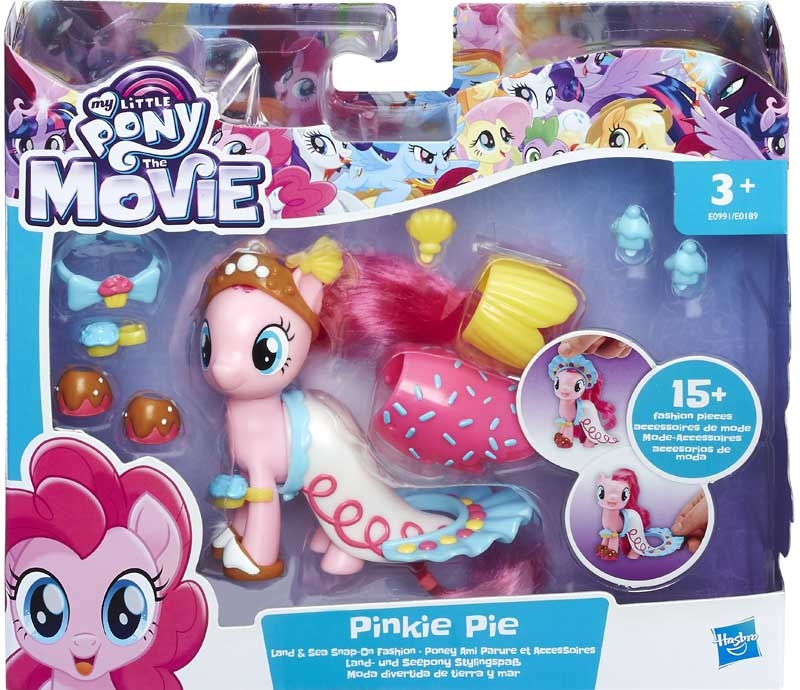 Wholesalers of My Little Pony The Movie Land And Sea Fashion Asst toys