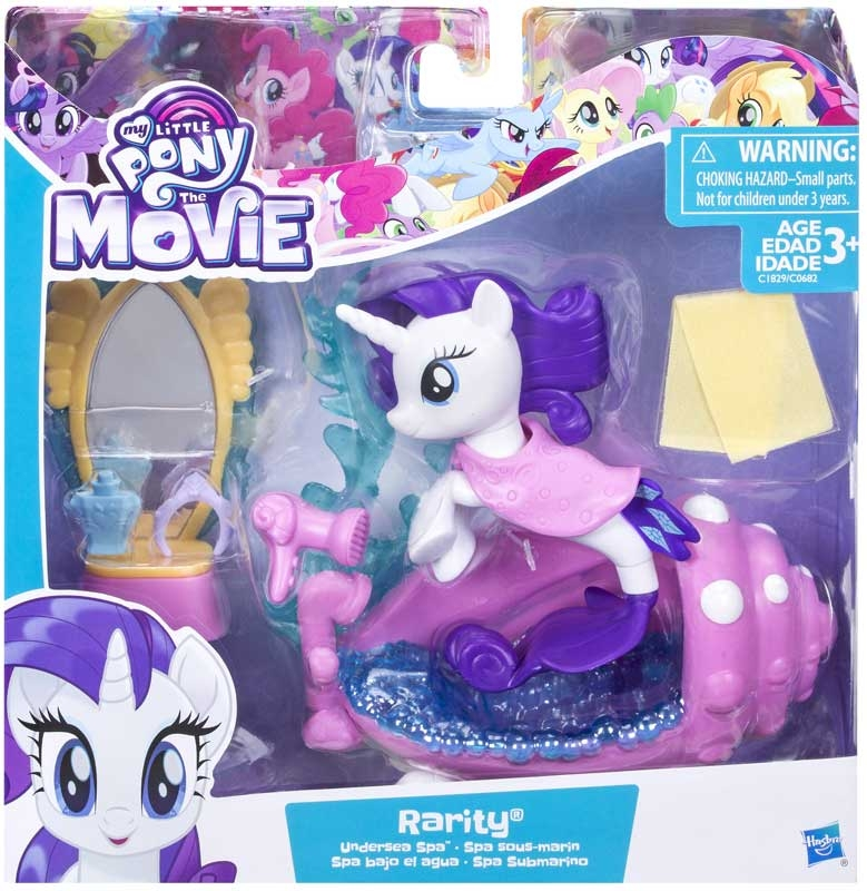 Wholesalers of My Little Pony Undersea Scene Packs Rarity toys