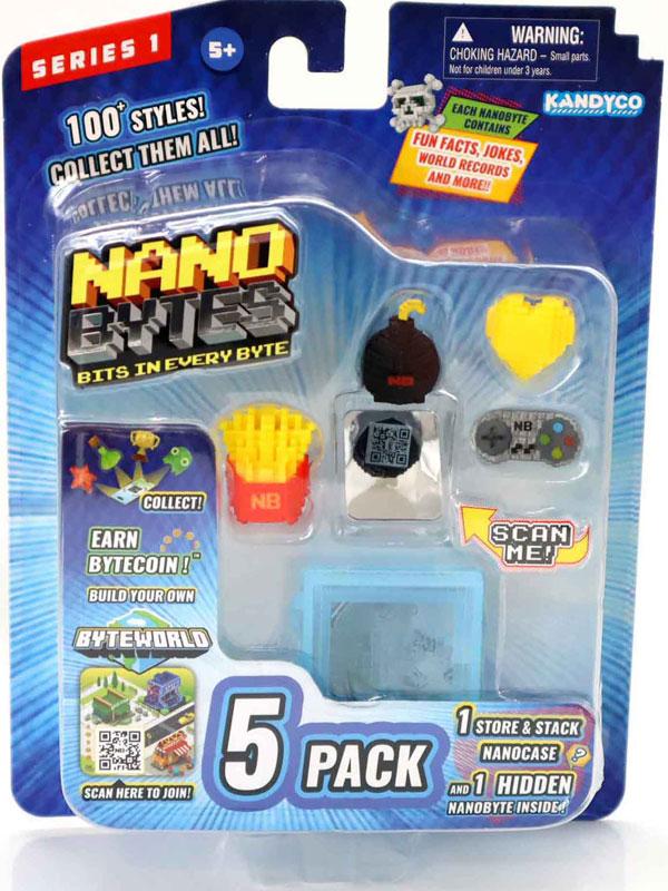 Wholesalers of Nanobytes 5-pack toys
