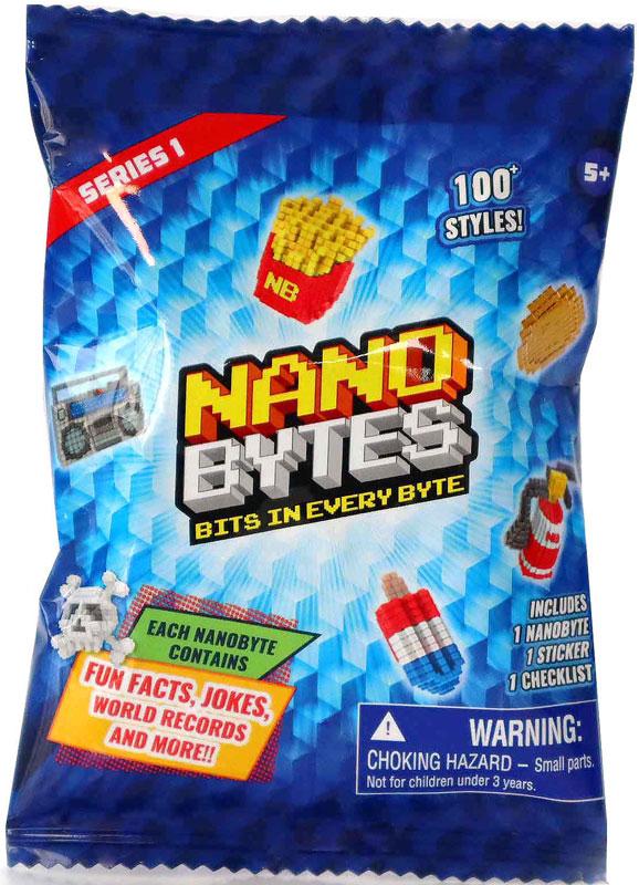 Wholesalers of Nanobytes Foil Bag Asst toys