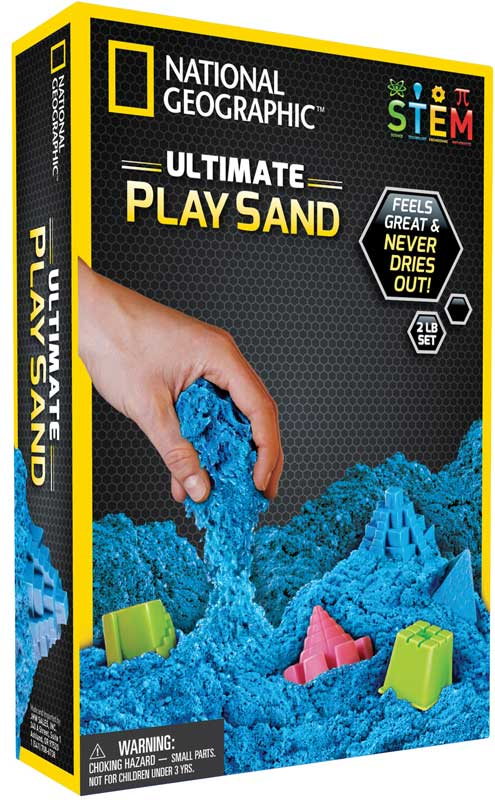 Wholesalers of National Geographic Blue Play Sand toys