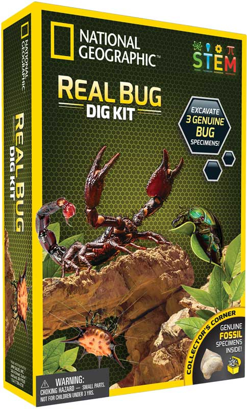 Wholesalers of National Geographic Bug Dig Kit toys