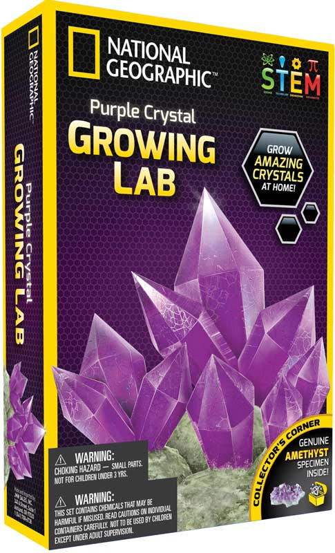 Wholesalers of National Geographic Crystal Growing Kit Asst toys