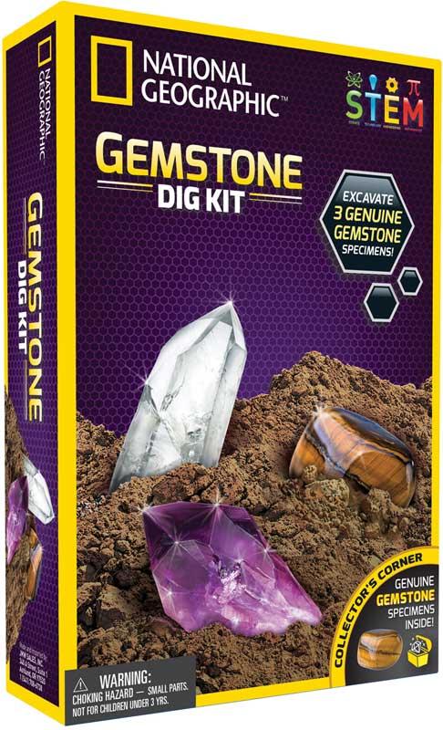 Wholesalers of National Geographic Gemstone Dig Kit toys