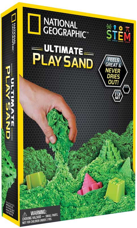 Wholesalers of National Geographic Green Play Sand toys
