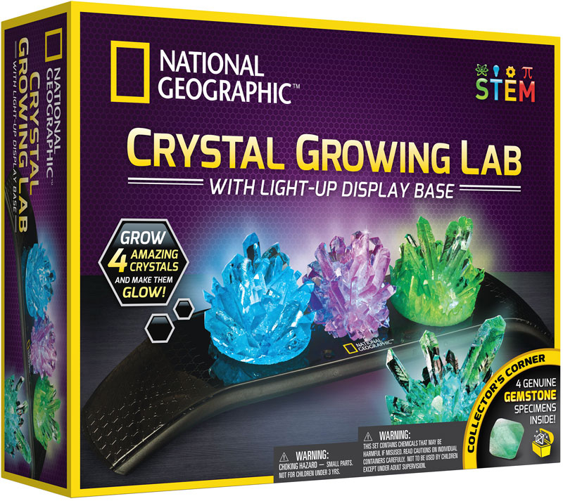Wholesalers of National Geographic Light Up Crystal Growing Lab toys