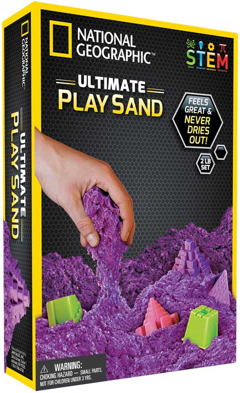 Wholesalers of National Geographic Purple Play Sand toys