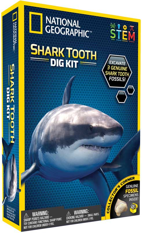 Wholesalers of National Geographic Shark Teeth Dig Kit toys