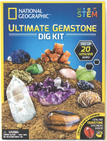 Wholesalers of National Geographic Ultimate Gemstone Dig Kit toys image