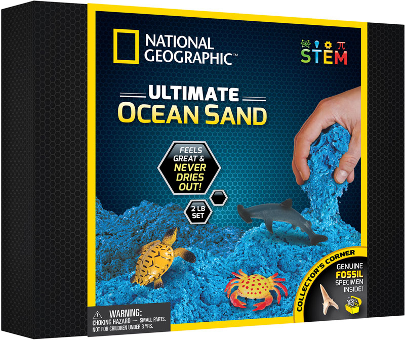 Wholesalers of National Geographic Ultimate Ocean Sand toys