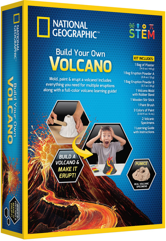 Wholesalers of National Geographic Volcano Kit toys