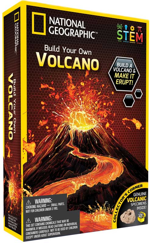 Wholesalers of National Geographic Volcano Science Kit toys