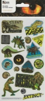 Wholesalers of Natural History Museum Dinosaur Stickers Lrg toys image