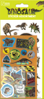 Wholesalers of Natural History Museum Dinosaurs Assortment Pack Stickers toys image