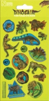 Wholesalers of Natural History Museum Dinosaurs Foil Stickers toys image