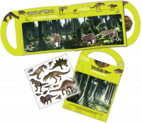 Wholesalers of Natural History Museum Dinosaurs Sticker Scene Stickers toys image 2