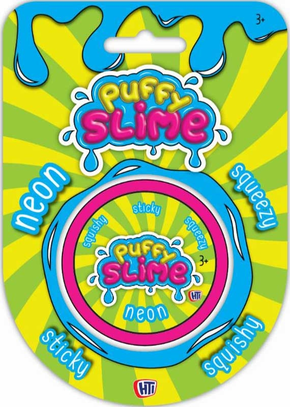 Wholesalers of Neon Puffy Slime toys