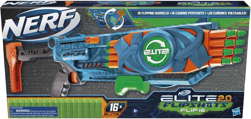 Wholesalers of Nerf Elite 2.0 Flip 16 toys