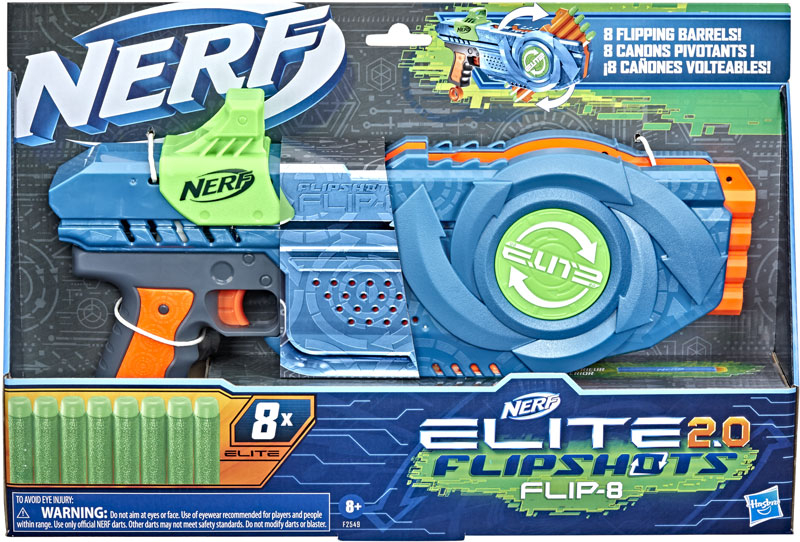 Wholesalers of Nerf Elite 2.0 Flip 8 toys