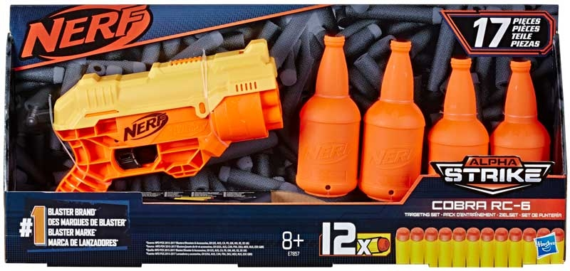 Wholesalers of Nerf Alpha Strike Cobra Rc 6 Tgt Set toys