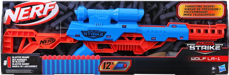 Wholesalers of Nerf Alpha Strike Wolf Lr 1 toys