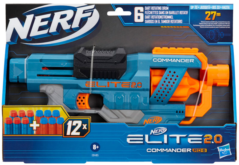 Wholesalers of Nerf Elite 2.0 Commander Rd 6 toys