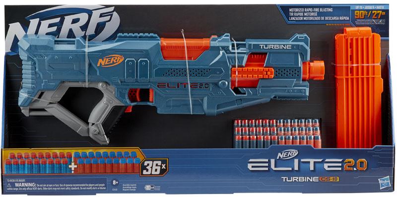Wholesalers of Nerf Elite 2.0 Turbine Cs 18 toys
