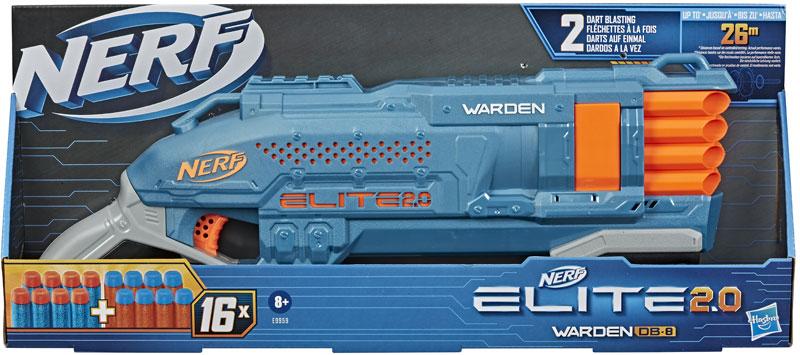 Wholesalers of Nerf Elite 2.0 Warden Db 8 toys
