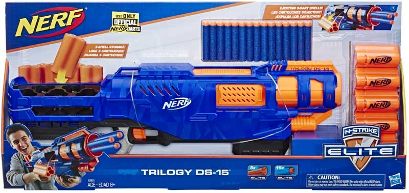 Wholesalers of Nerf Elite Trilogy Ds-15 toys