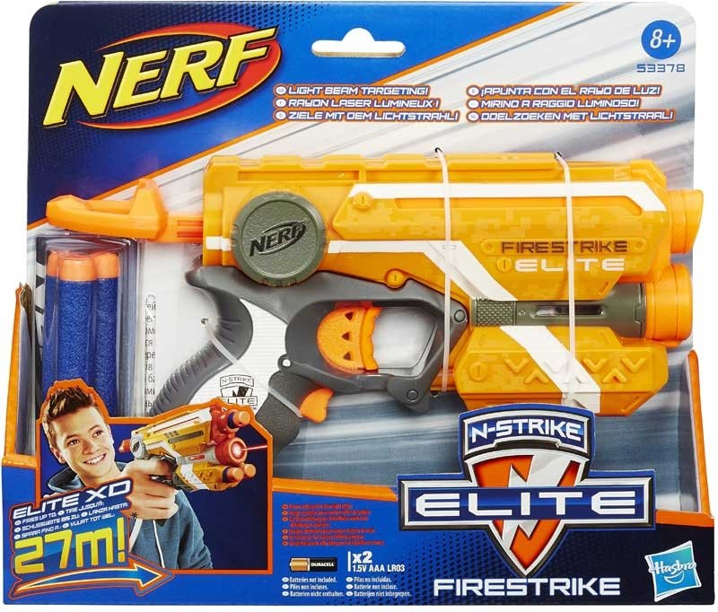 Wholesalers of Nerf Elite Firestrike Blaster toys