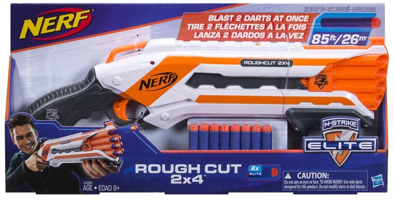 Wholesalers of Nerf Elite Rough Cut 2x4 toys