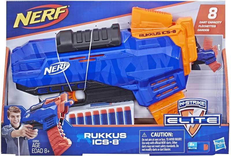 Wholesalers of Nerf Elite Rukkus Ics 8 toys