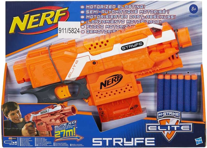 Wholesalers of Nerf Elite Stryfe Blaster toys