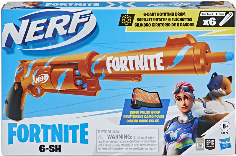 Wholesalers of Nerf Fortnite 6-sh toys
