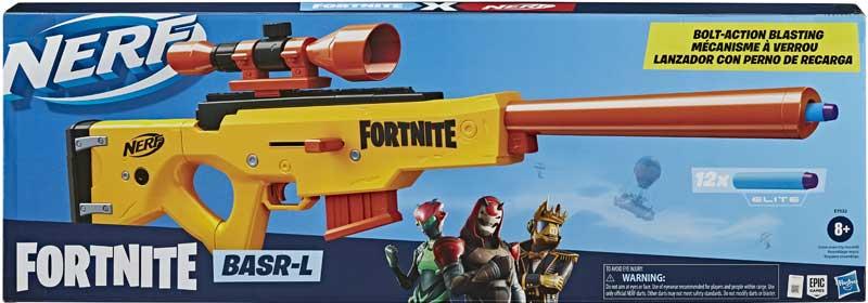 Wholesalers of Nerf Fortnite Basr L toys