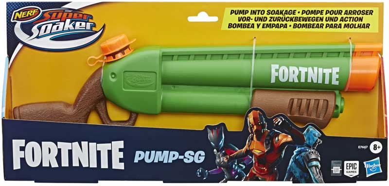 Wholesalers of Nerf Fortnite Pump Sg toys