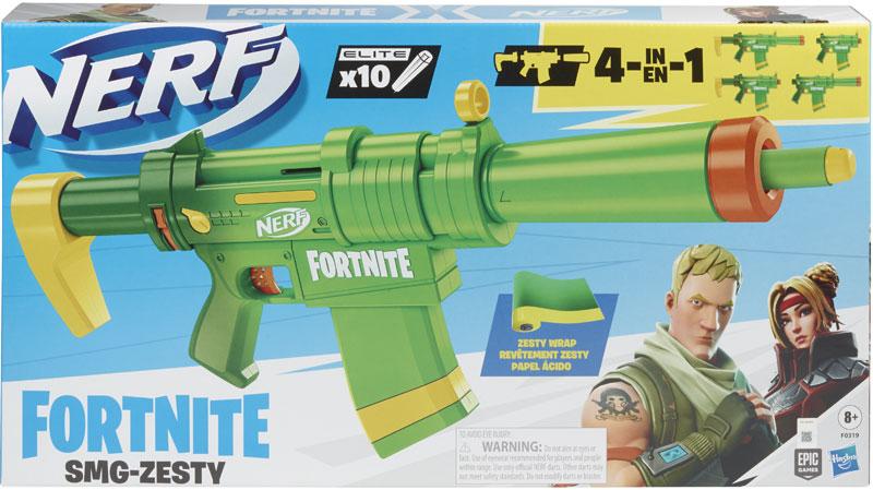 Wholesalers of Nerf Fortnite Smg Zesty toys