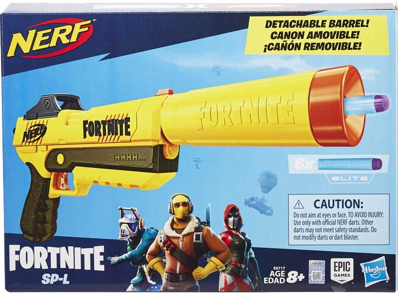 Wholesalers of Nerf Fortnite Sp-l toys
