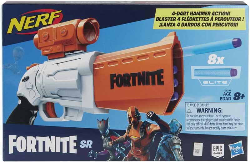Wholesalers of Nerf Fortnite Sr toys
