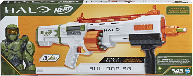 Wholesalers of Nerf Halo Bulldog Sg toys