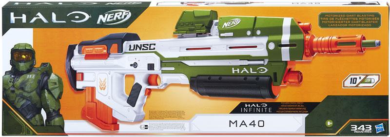 Wholesalers of Nerf Halo Ma40 toys