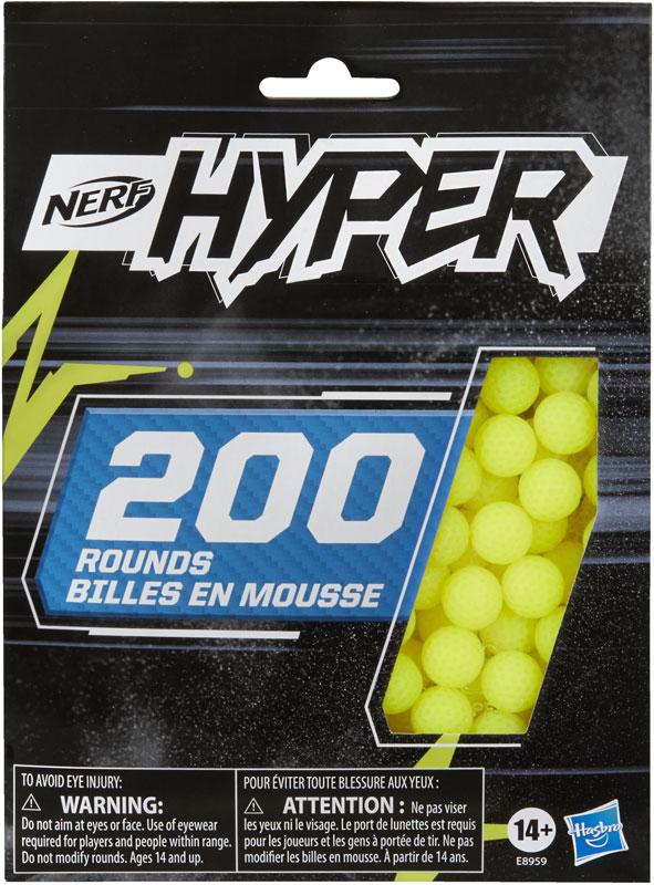 Wholesalers of Nerf Hyper Bulk Refill 200 toys