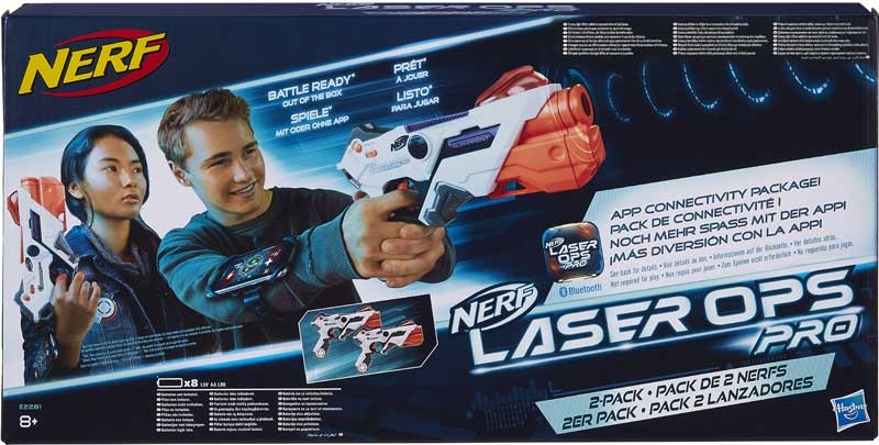 Wholesalers of Nerf Laser Ops Alphapoint Two Pack toys