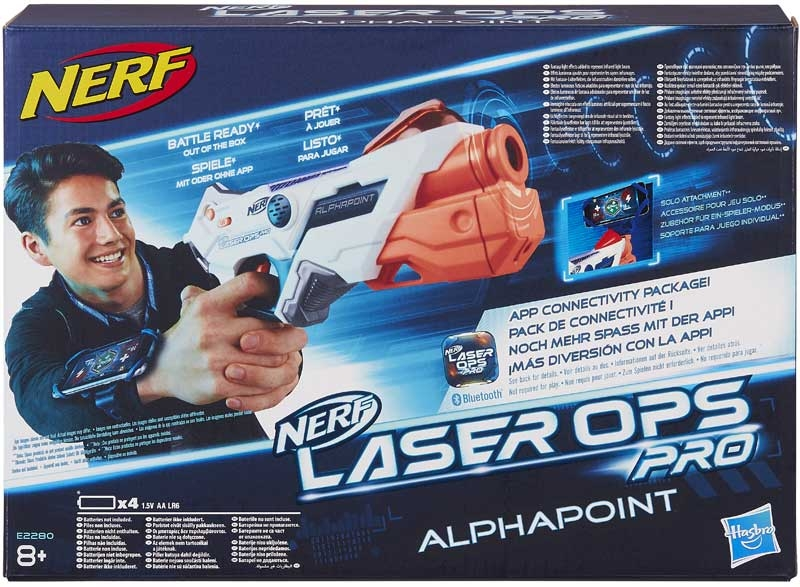 Wholesalers of Nerf Laser Ops Alphapoint toys