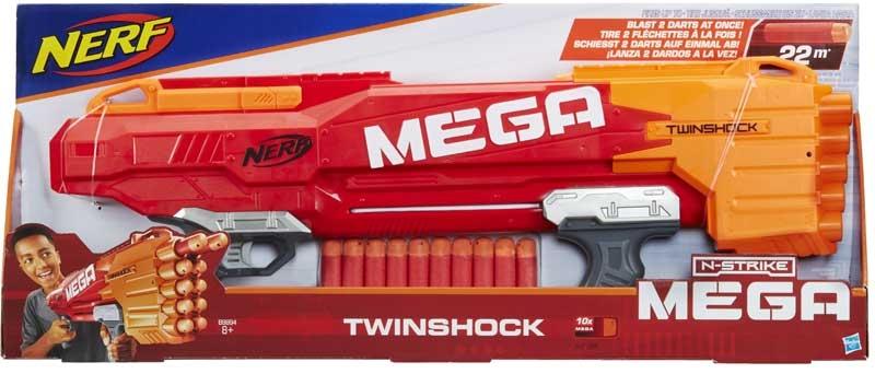 Wholesalers of Nerf Mega Twinshock toys