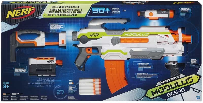 Wholesalers of Nerf Modulus Ecs-10 Blaster toys